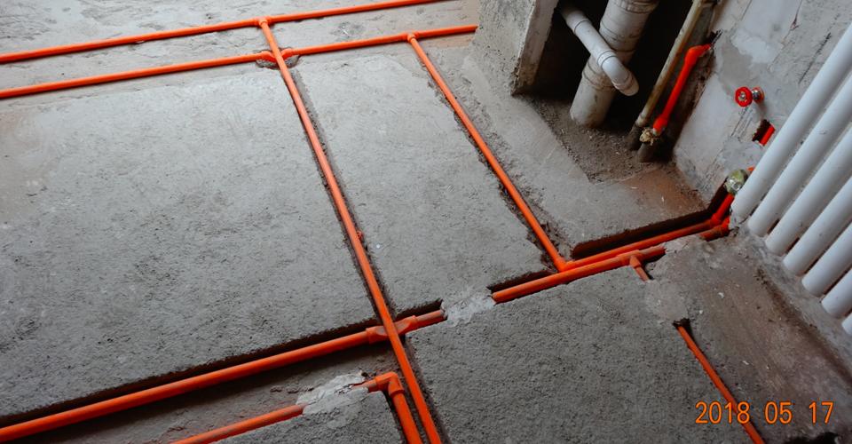 北仓中里1号院5号楼3单元水电安装施工