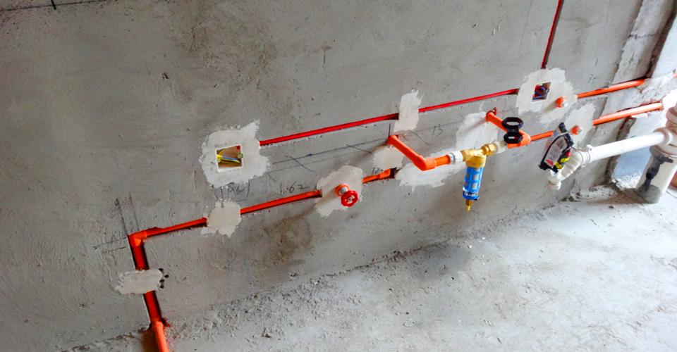 裕华光合世界2号楼水电安装