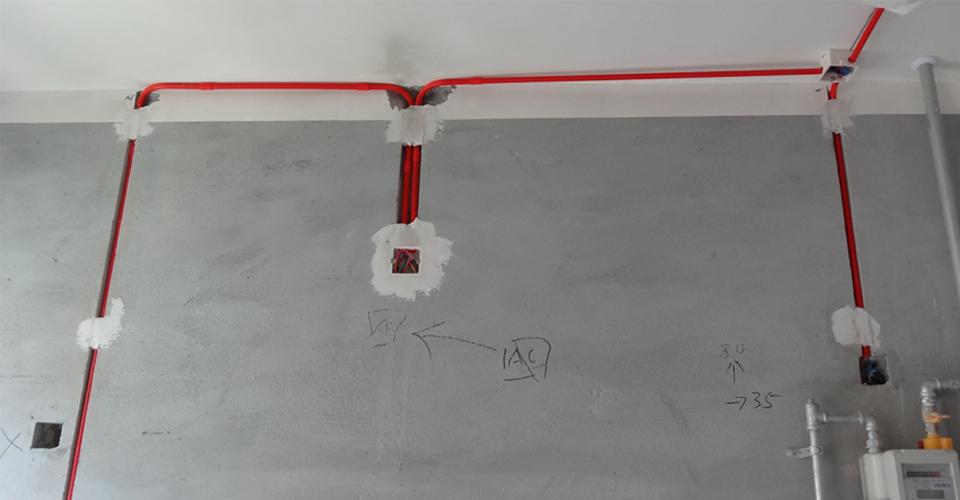 碧源月湖榕园10号楼2单元 水电安装